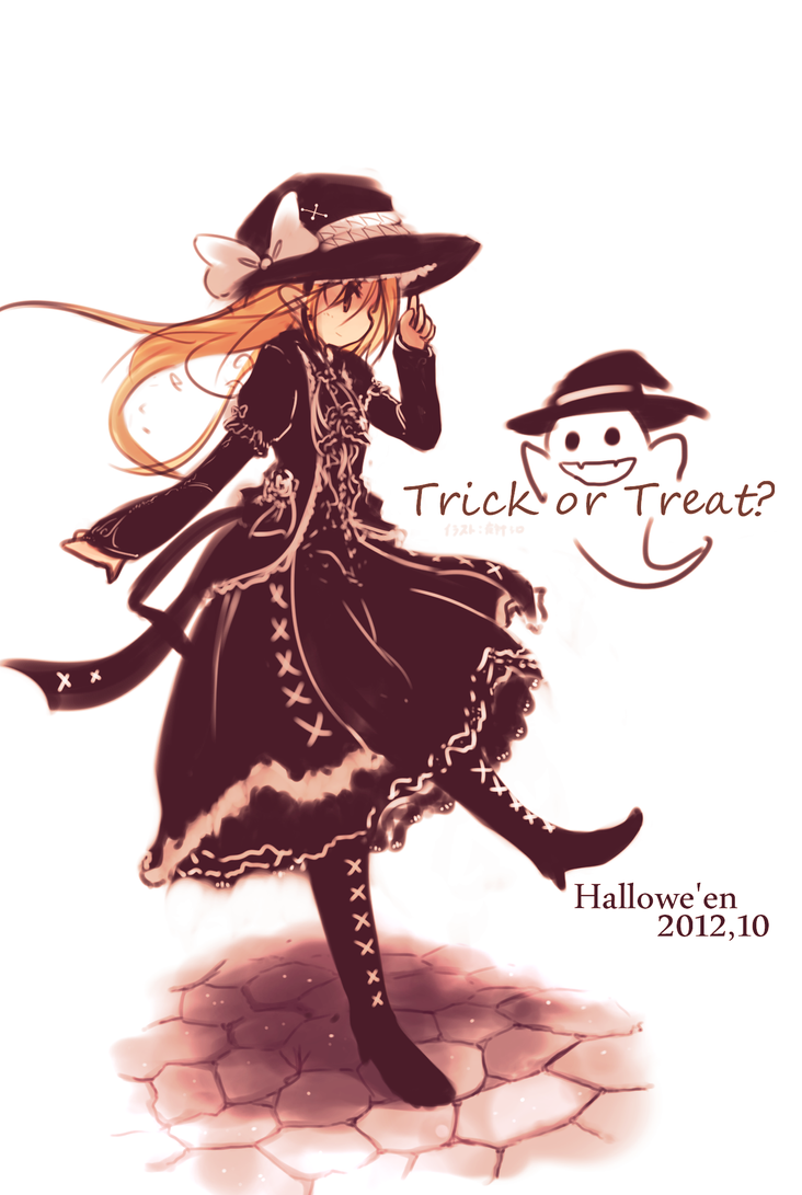 Trick or Treat? by yagamisiro