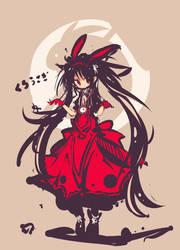 Black rabbit by yagamisiro