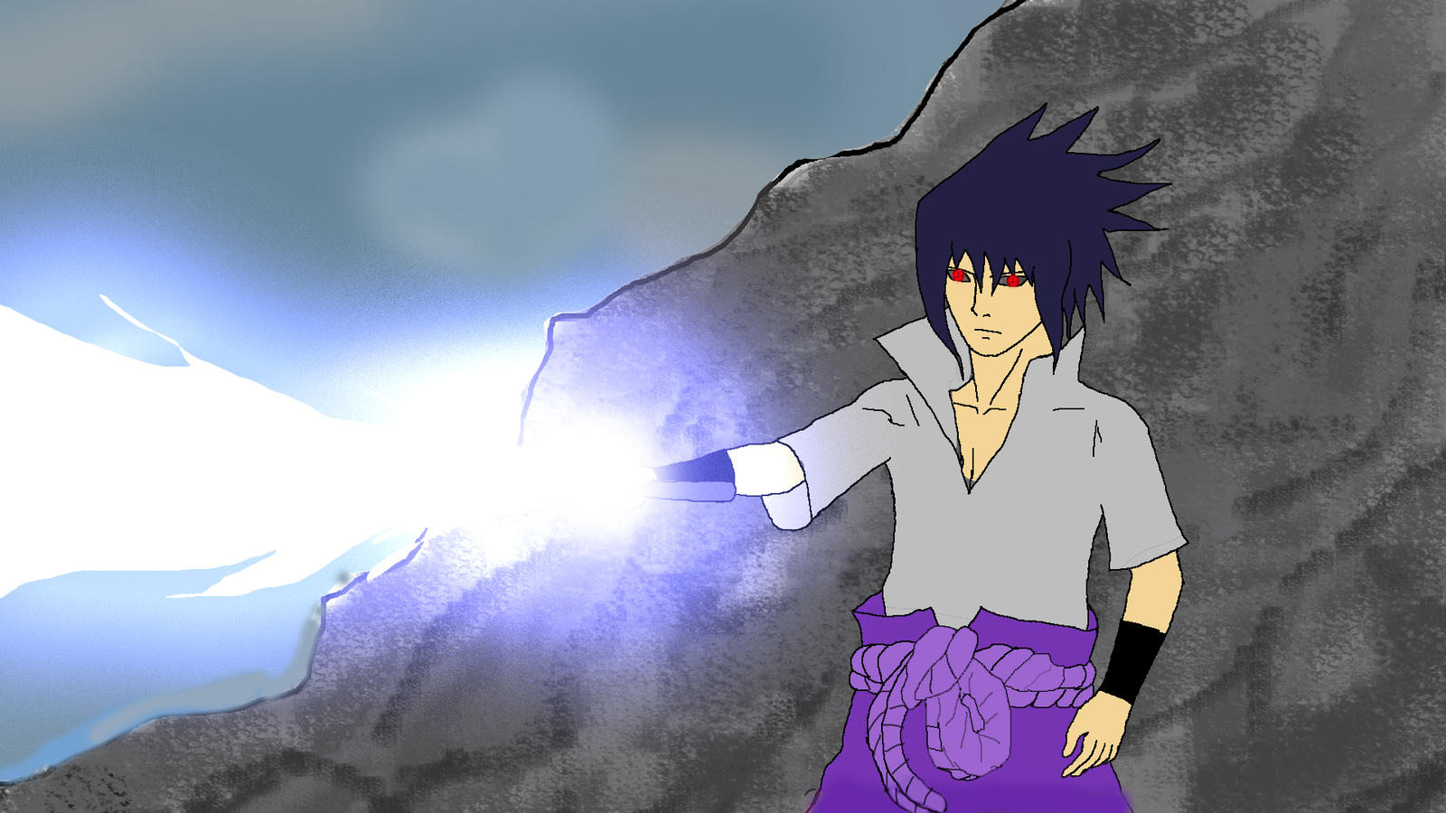Sasuke's Reanimation with chidori sword by Katong999 on ...