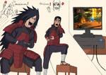 Naruto - Madara Vs Hashirama Gameplay