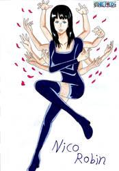 Nico Robin : One Piece by Katong999