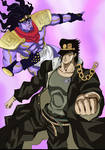 JOJO :: Jotaro Kujo and stand
