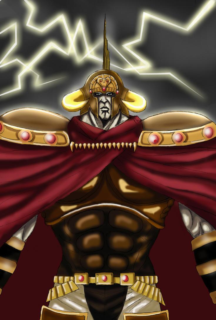 Hokuto no Ken - Raoh The Conqueror by Katong999
