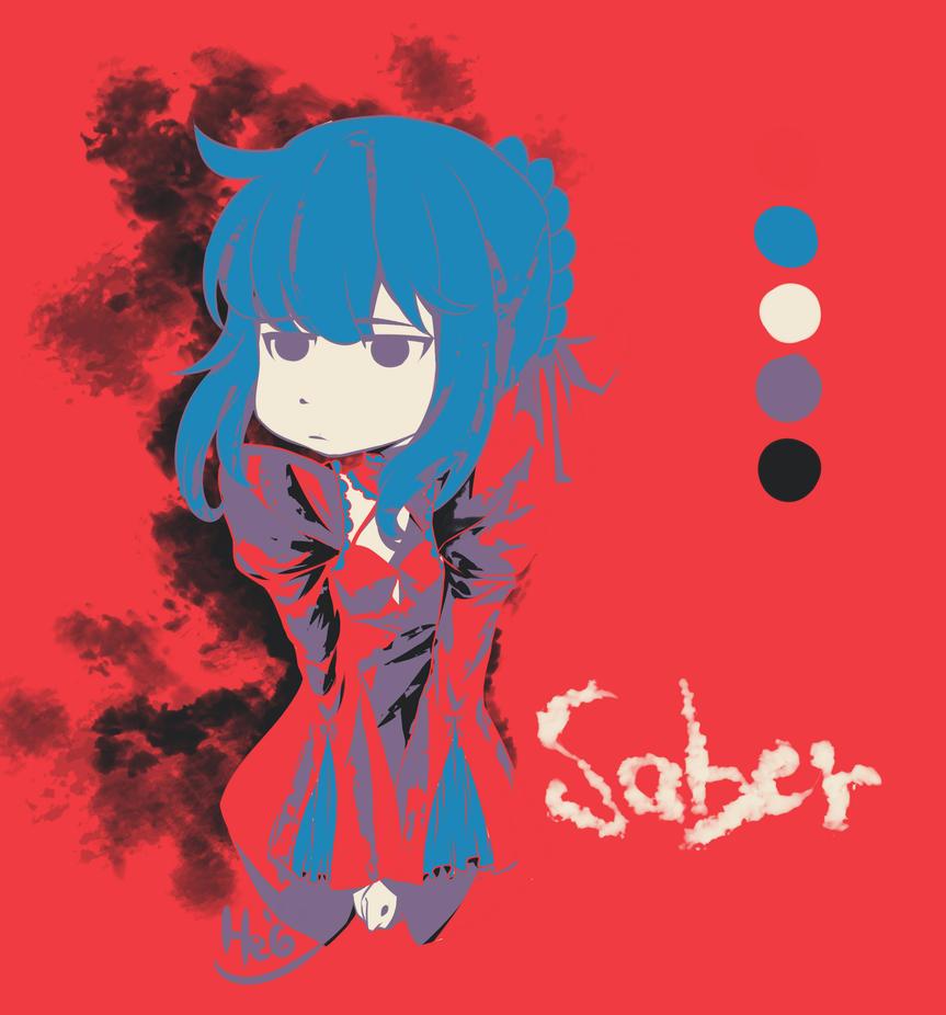 [ REQUEST ] Dark Saber - Fate Stay Night by xxxcutedevilxxx