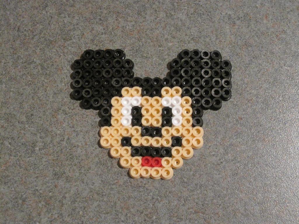 mickey mouse perler beads pattern perler bead disney ...