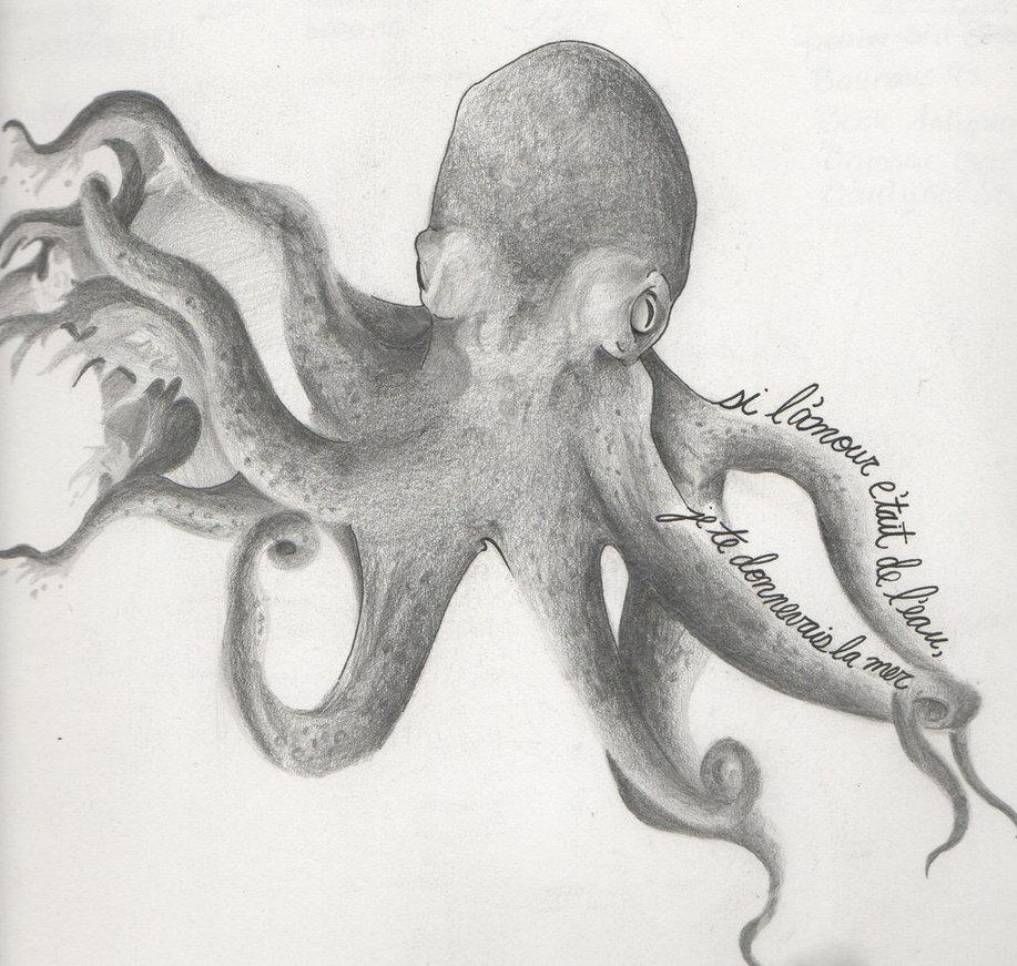 octopus tattoo design by bjgoodwin on deviantart. Black Bedroom Furniture Sets. Home Design Ideas