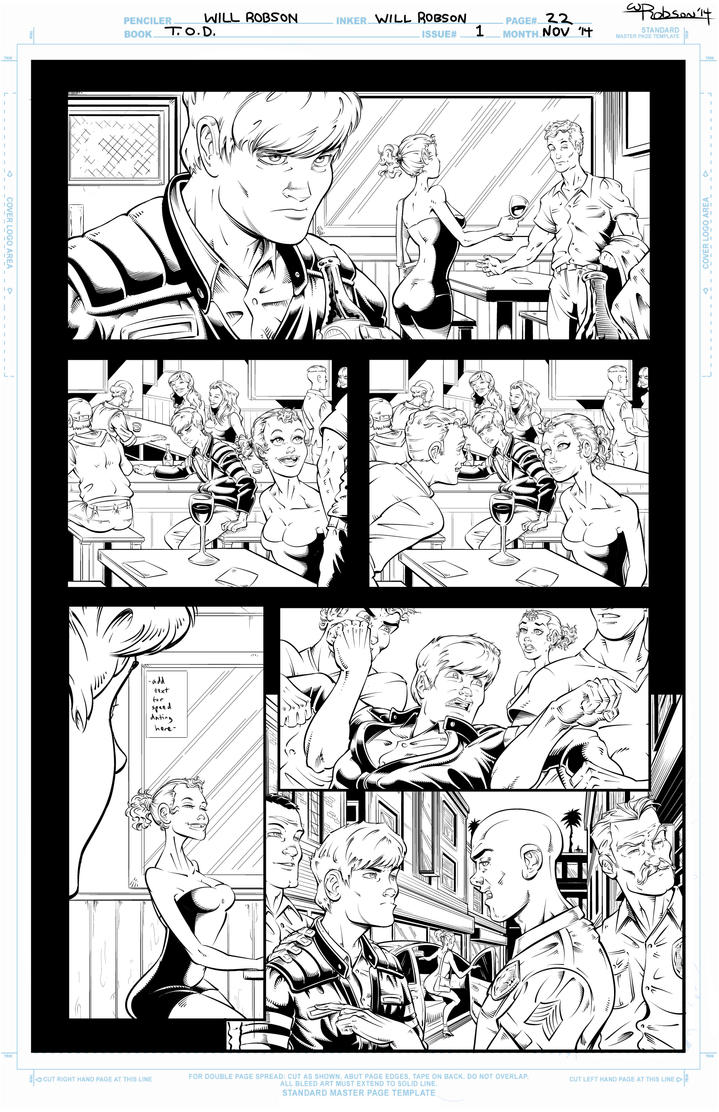 T.O.D. Page 22 by RobsonInk