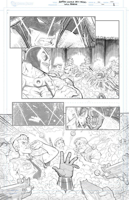 Batman Samples Round 2 by RobsonInk