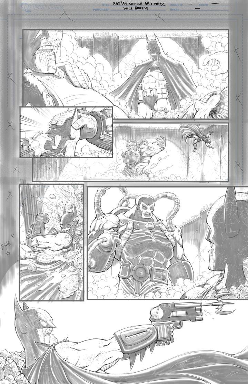 Batman Samples Round 2 Page 3 by RobsonInk