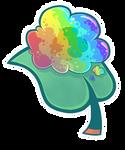 Gummy Goo Leaf (RNBW)
