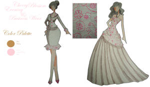 Cherry Blossom Print Design by PrincessPoutee