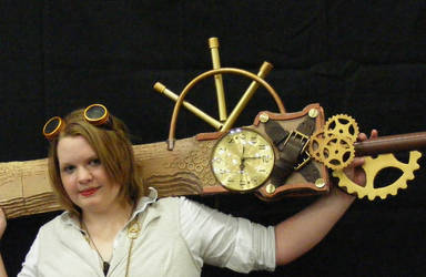 Steampunk Sword I by PrincessPoutee