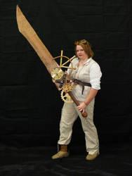 Steampunk Sword II by PrincessPoutee