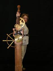 Steampunk Sword V by PrincessPoutee