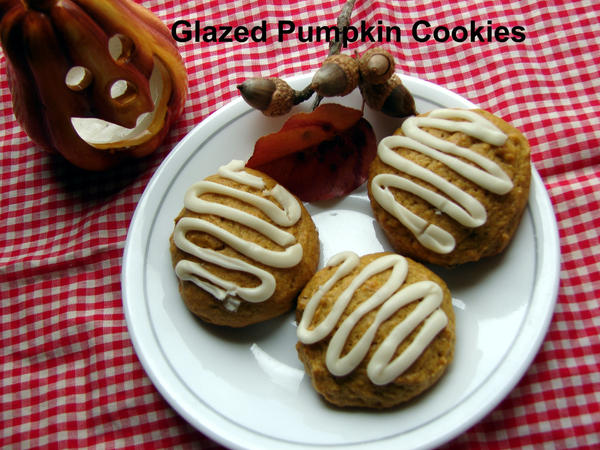 Iced Pumpkin Cookies by kat1967 on DeviantArt