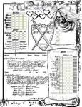Drajl Character Sheet, Page 1