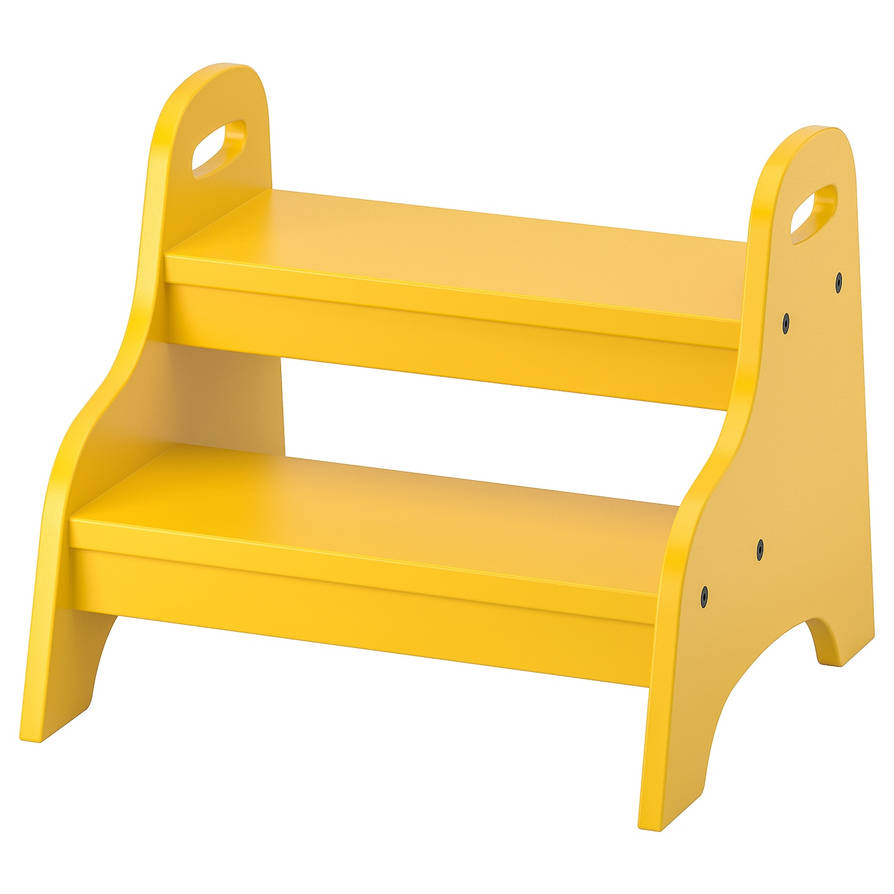 Trogen-childs-step-stool-yellow  0727955 Pe735969