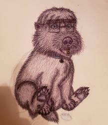 T.U.F.F. puppy REAL LIFE: Chubster! by AuBurneyTheHyena