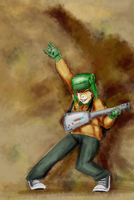 Guitar Qeer O by GizmoBruh