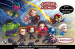 Avengers Battlecry by Gad