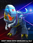 Don't mess with Grimlock by Gad