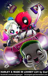 Harley and Wade in Looney luv by Gad