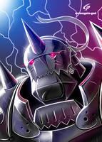 Fullmetal Alphonse by Gad by Dreamgate-Gad