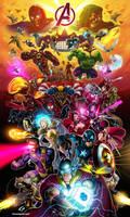 Marvel Avengers Alliance Assemble Forever by GAD