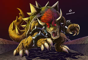 Bowser: the King Koopa by Gad