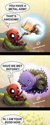 Deadpool Homecoming by Dreamgate-Gad