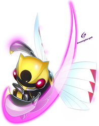 Ninjask used Fury Cutter  by Gad by Dreamgate-Gad