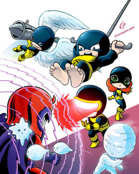 X-Men chibi cover 1