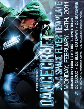 Dancecraft Poster Template