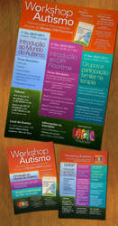 Austism Workshop Poster Flyer by AticcaDesign