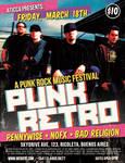 Punk Rockr Retro Poster Flyer