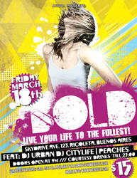 Bold Grunge Flyer and Poster by AticcaDesign