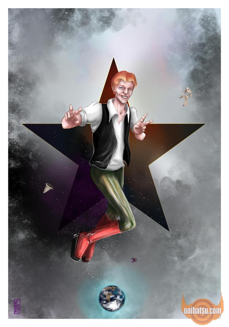 Farewell Starman by michaelfoley