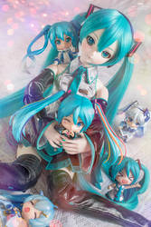 Happy 50th Miku by Bellechan