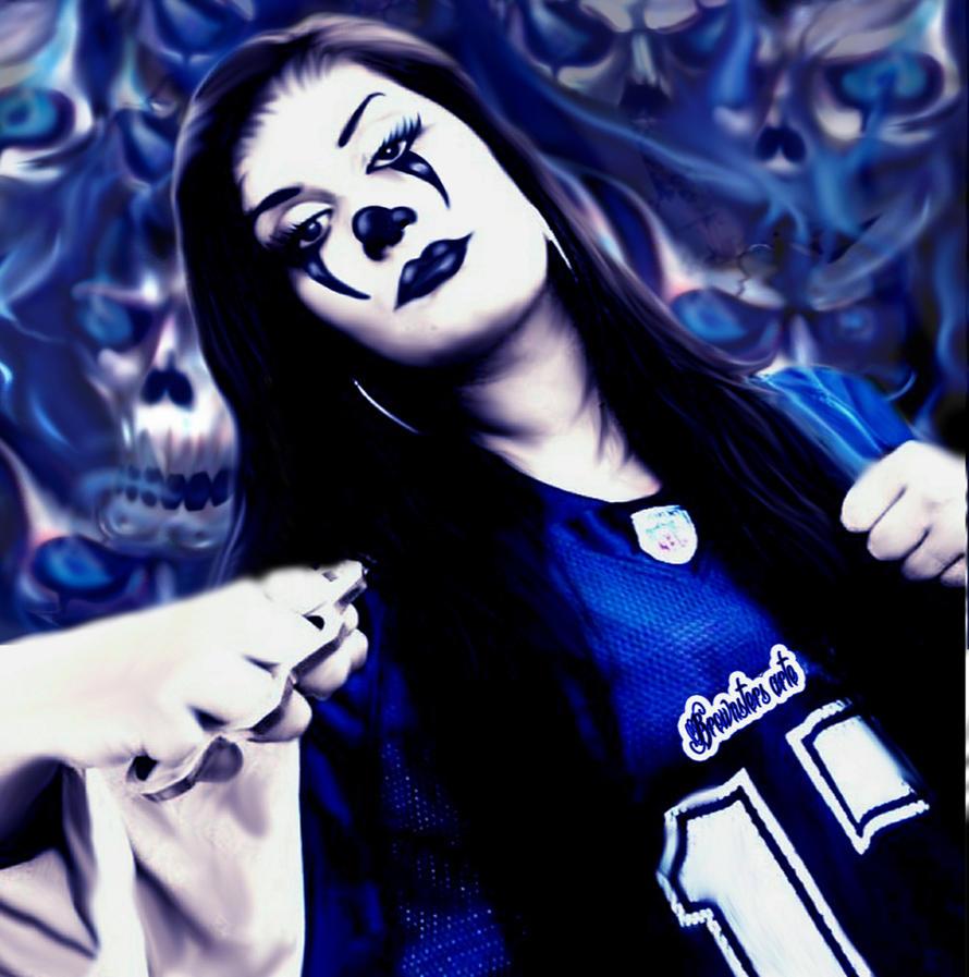 Gangsta Clown By Brownstersart