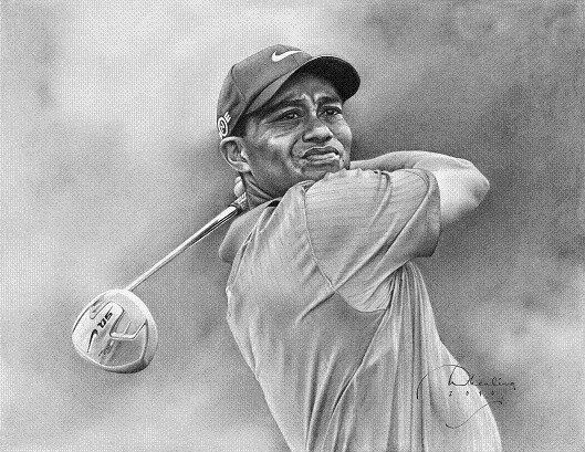 Tiger Woods By Drawing-Dude-Dave On DeviantArt
