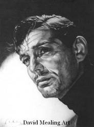 Clark Gable by Drawing-Dude-Dave