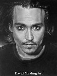 Johnny Depp by Drawing-Dude-Dave