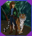 Sassy Dragon - Adventurous Girl form by SassyDragon18
