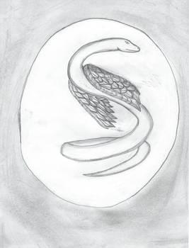 Wing Serpent Tattoo