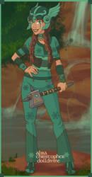 Kelda the Viking Girl by SassyDragon18