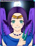 Roxanne the Neko Angel by SassyDragon18
