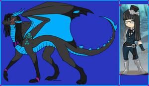 Kali BlackDeath the Vampire Dragoness by SassyDragon18