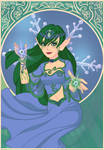 Emma -  Elf form by SassyDragon18