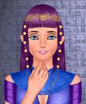 Sassy Dragon - Egyptian Queen form by SassyDragon18
