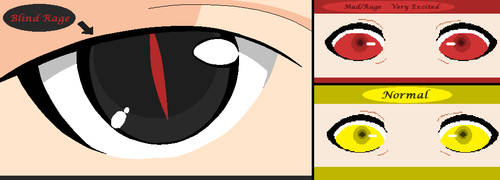 Atom's Mood Eye Color Chart by SassyDragon18